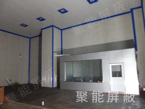 高压局放屏蔽大厅的装置组成情况